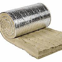 Армированный прошивной мат из каменной ваты с ал.покрытием PAROC Wired Mat AluCoat