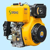 Двигатель дизельный SADKO DE-440E шпонка (12.0 л.с.)