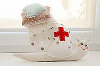 Большая игольница медсестра