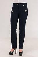 Стильные женские  брюки синего цвета