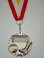Медаль MD 56 silver с лентой