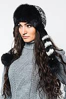Меховая женская  зимняя шапка