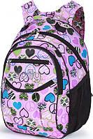Превосходный рюкзак для девочки Dolly (Долли) 585 розовый