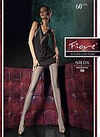 Колготы Fiore 60 Den Nilda 3D цвет Graphite р.4