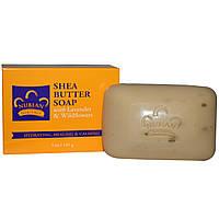 Мыло Nubian Heritage, Shea Butter Soap, With Lavender & Wildflowers Лаванда и Полевые цветы, 141г