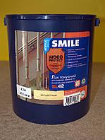 Акриловый лак тонирующий для древесины и минеральных оснований Wood Protect SL 42 Smile (2,3 кг)