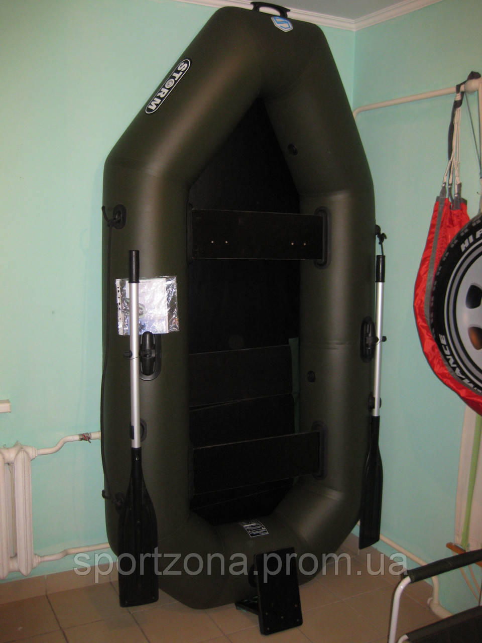 лодка пвх аква 260 с навесным транцем