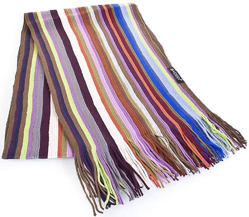 Оригинальный мужской шерстяной шарф в стиле PAUL SMITH 166 на 25 см BAOSIDI (БАОСИДИ) DC183-403