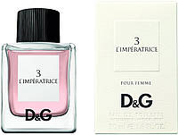 Женская туалетная вода Dolce & Gabbana №3 L`imperatrice 50ml