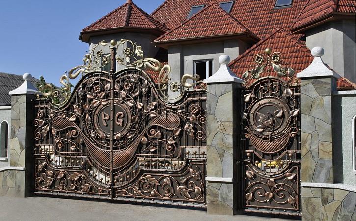 Ворота в одессе цена сделать воротам в рязани