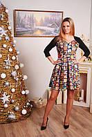 Платье женское принтованное , фото 1
