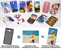 Печать на чехле для Samsung A700H Galaxy A7 (Cиликон/TPU)