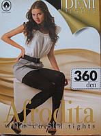 """Хлопковые тёплые колготы """"Afrodita"""" 360 DEN"""