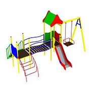 Игровой комплекс Гелиус с качелью для детей
