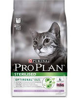 Сухой корм для кастрированных кошек Pro Plan (Про План) Sterilised Turkey (индейка) 1,5 кг