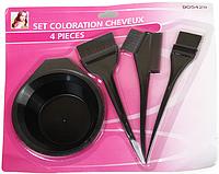Набор для окрашивания волос с тремя кисточками H03414 /04-1