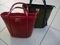 Женская кожаная сумка Dolce&Gabbana