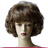 Парик из исскуственных волос короткий, мелированный