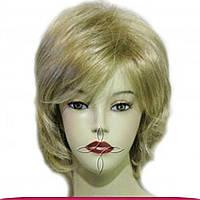 Парик из исскуственных волос короткий, блонд