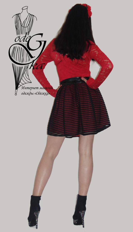Фото-1 Оригинальных платьев из жаккардового трикотажа с длинным рукавом Джульетта PlDg2804