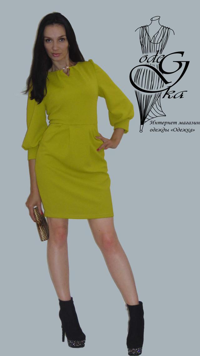 Фото Модного платья со змейкой сзади Кристина PlKrT98