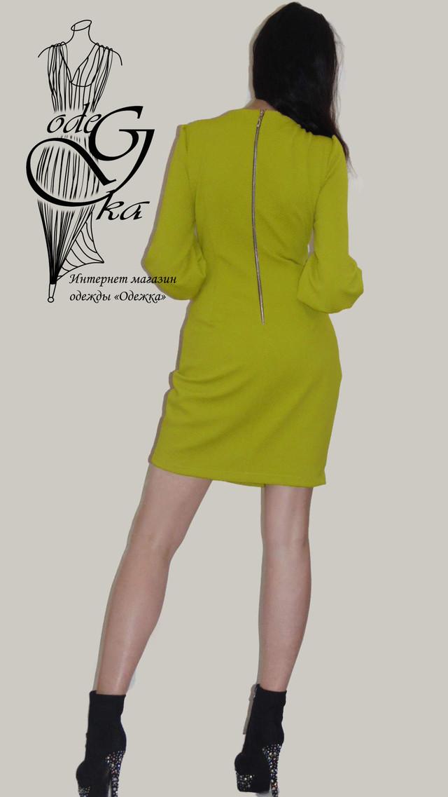 Фото-2 Модного платья со змейкой сзади Кристина PlKrT98