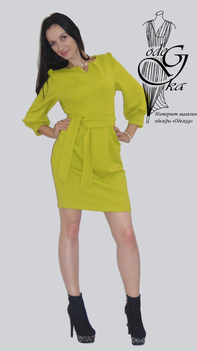 Фото-3 Модного платья со змейкой сзади Кристина PlKrT98
