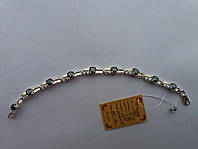 Браслет из серебра и золота