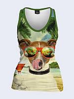Майка Собака в очках
