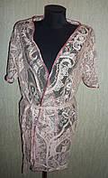 Сексуальный женский кружевной  халат халатик