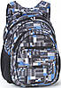Прочный школьный рюкзак для мальчика Dolly (Долли) 573gray серый