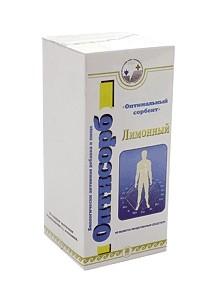 Оптисорб лимонный, гранулы, 100,( в пакетиках)