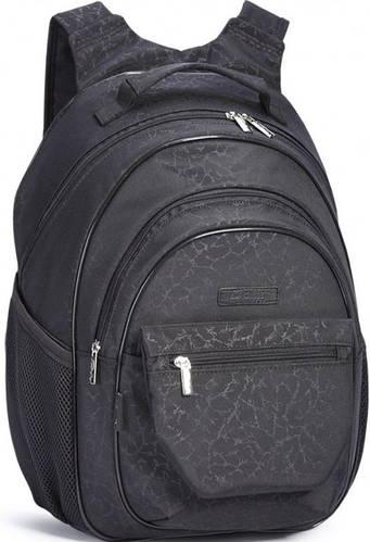 Надежный школьный рюкзак для мальчика Dolly (Долли) 569 черный