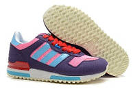 Женские кроссовки Adidas ZX 700 Purple/Pink/Red
