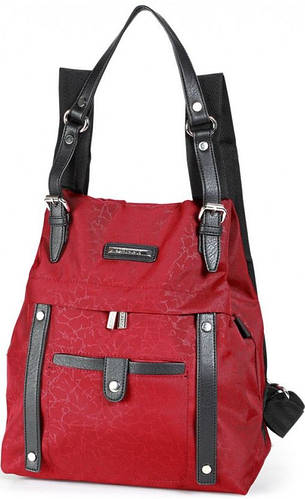 Яркий женский сумка-рюкзак Dolly (Долли) 356 красный