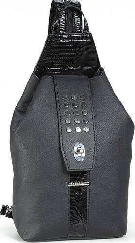 Стильный женский городской рюкзак Dolly (Долли) 358 черный