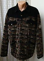 Куртка мужская утепленная демисезонная хлопок вельвет бренд Uncle Sam р.54 4679а