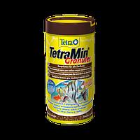 Корм для аквариумных рыб Tetra MIN Granules 500 мл гранулы основной корм для всех видов рыб