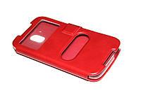 Чехол книжка для HTC Desire 526 красный