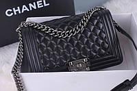 Женская сумки Chanel (Шанель)  BOY Black