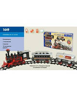 Детская железная дорога Classical Train 1649 (поезд + вагон + цистерна)