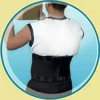 Пояс ортопедический с натуральным мехом S- XL