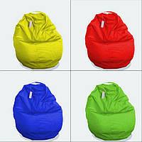 Кресло-груша, цвет жёлтый, красный, синий, зелёный, фиолетовый, оранжевый 60х60 см