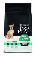 Сухой корм для собак PRO PLAN Small & Mini Adult Digestive Comfort (чувствительное пищеварение) 3 кг