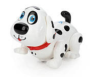 Интерактивная игрушка собака: музыка, подсветка, русский язык