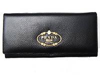 Женский кошелек Prada 7107 черный