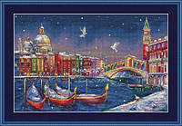 Мережка Набор для вышивки крестом  Святкова Венеція К-29