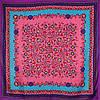 Стильный женский атласный платок размером 102*99 см ETERNO (ЭТЕРНО) ES0406-3-8