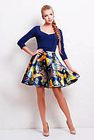 Нарядное женское платье с пышной юбкой Анфиса
