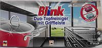 Губки для мытья посуды и нержавейки Blink Duo-Topfreiniger mit griffleiste 6 шт